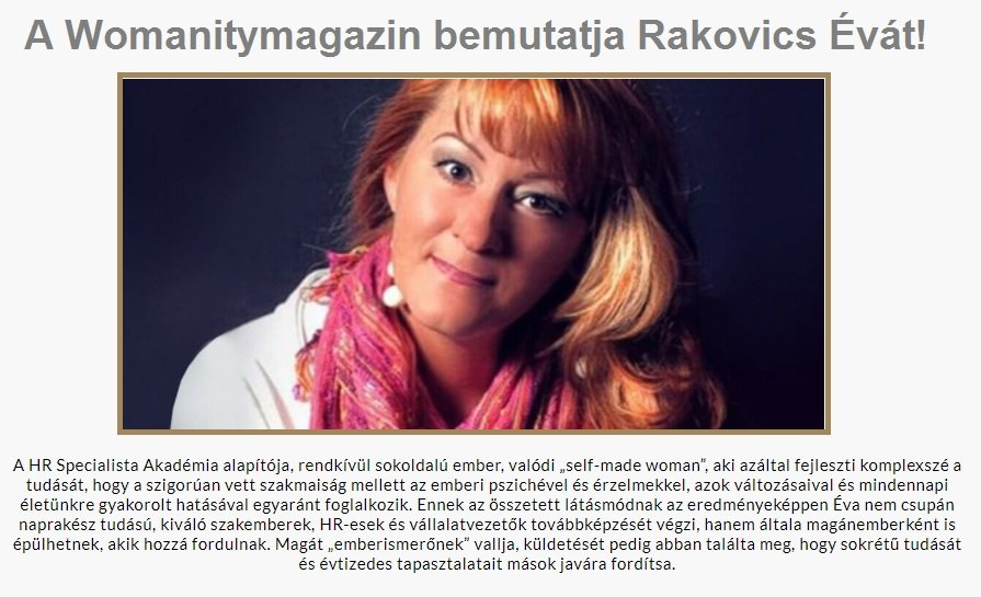 Womanity - SZÍV-Tanoda
